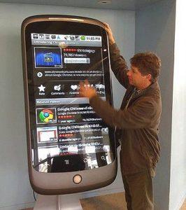 kiosk interaktywny